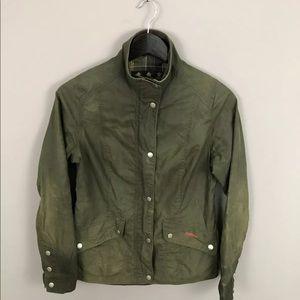 BARBOUR FERNDOWN Wax Jacket - Green -